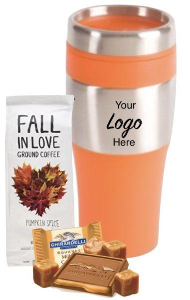 Fall Pumpkin Pie Coffee & Tumbler Set #1752307
